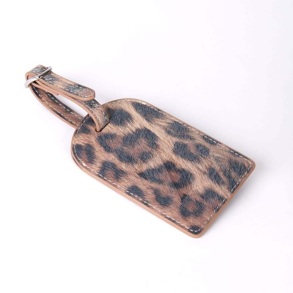 Vegan Leather Bag Luggage Tag